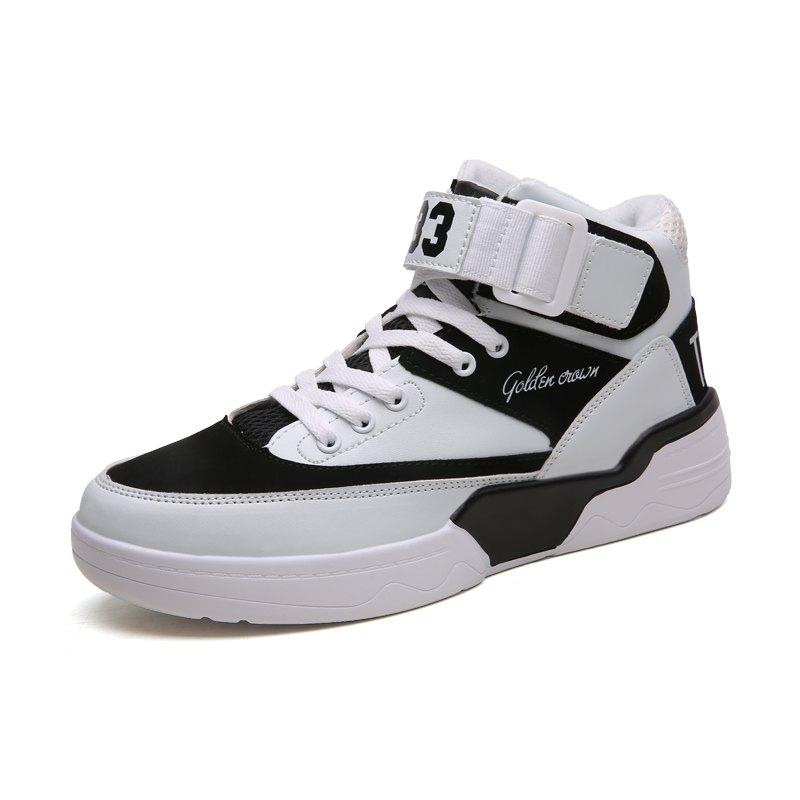 Fashion Autumn and Winter New England Men'S High-Top Shoes Retro Casual Shoes