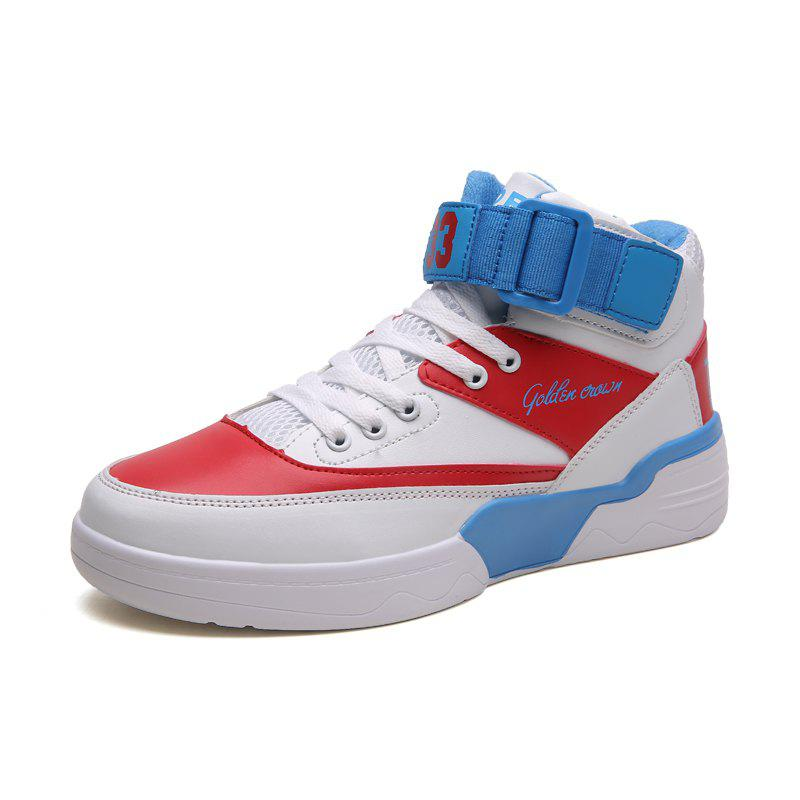 Hot Autumn and Winter New England Men'S High-Top Shoes Retro Casual Shoes