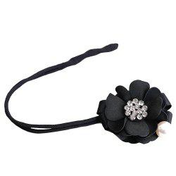 Fashion tied hair and flower hair rope -