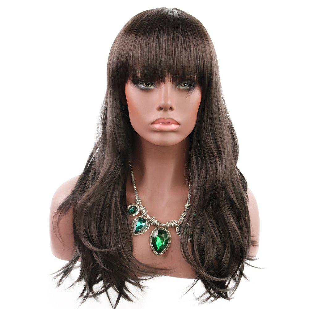 Online Ladies Are Stylish with Flowing Curly Hair WIG-038