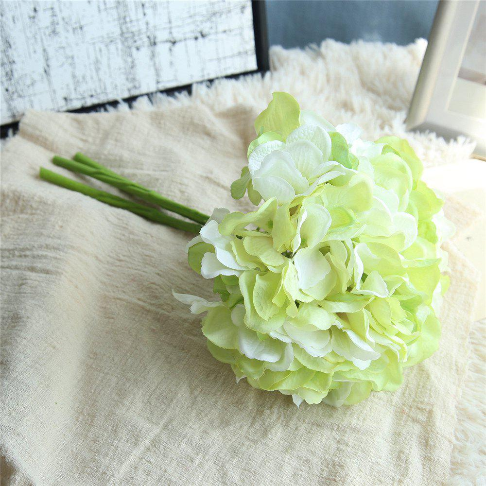 Trendy Wedding Bridal Bouquet Artificial Flower Hydrangea Home Decor