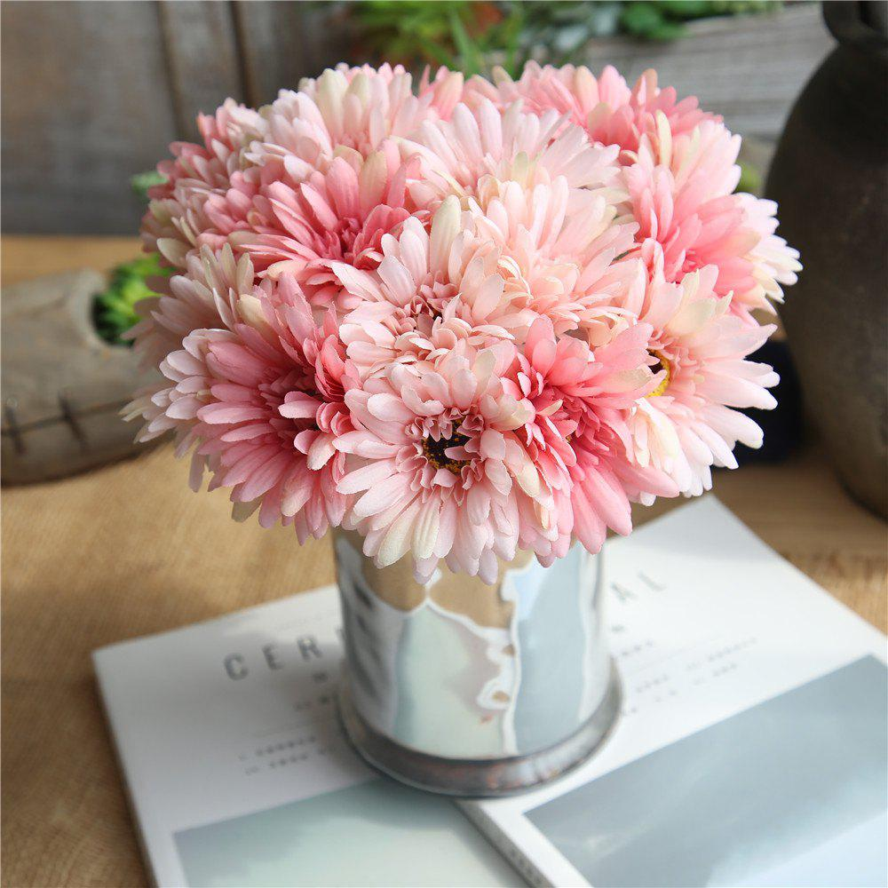 Store Africa Daisy Artificial Flower Wedding Bridal Bouquet Home Decorations