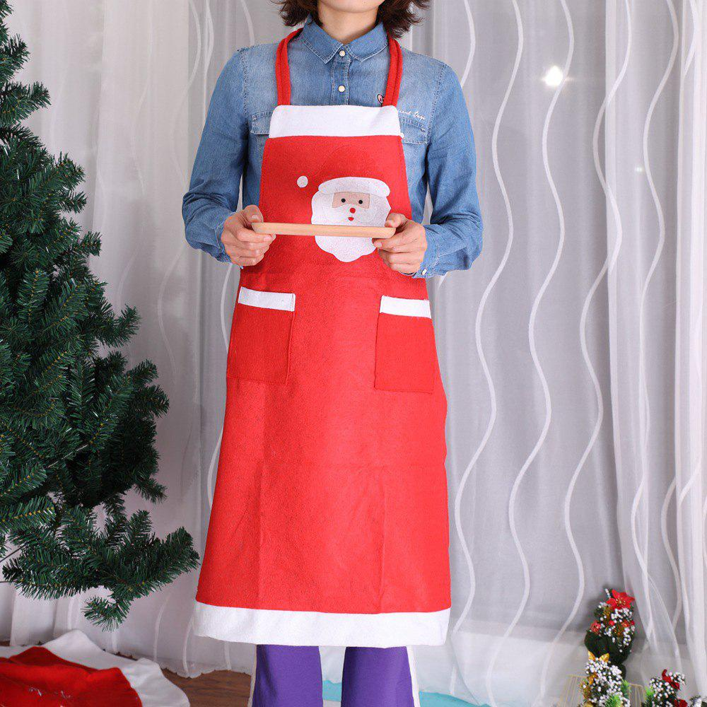 Shops Christmas Decorations Supplies Kitchen Red Nonwoven Apron