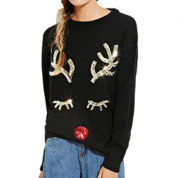 European and American Christmas Sweater Festival Theme Long-Sleeved Sweater -