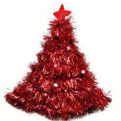 Christmas Tree Hat Christmas Tree Hat Christmas Straw Hat Party Dress Props Cap -