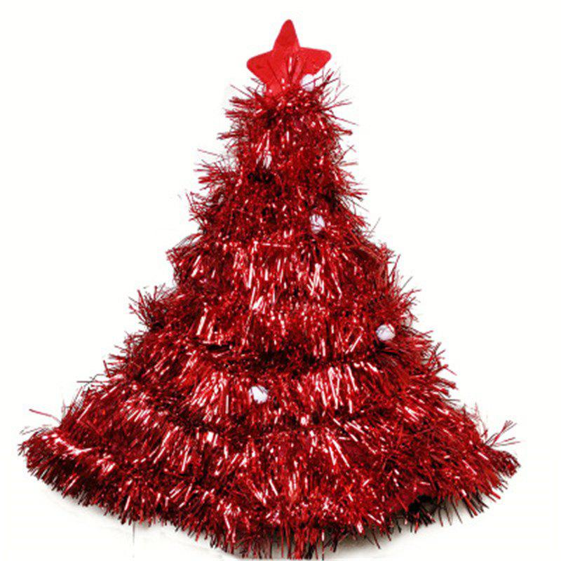 Sale Christmas Tree Hat Christmas Tree Hat Christmas Straw Hat Party Dress Props Cap