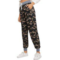 Women's Fashion Casual Camouflage Pants -