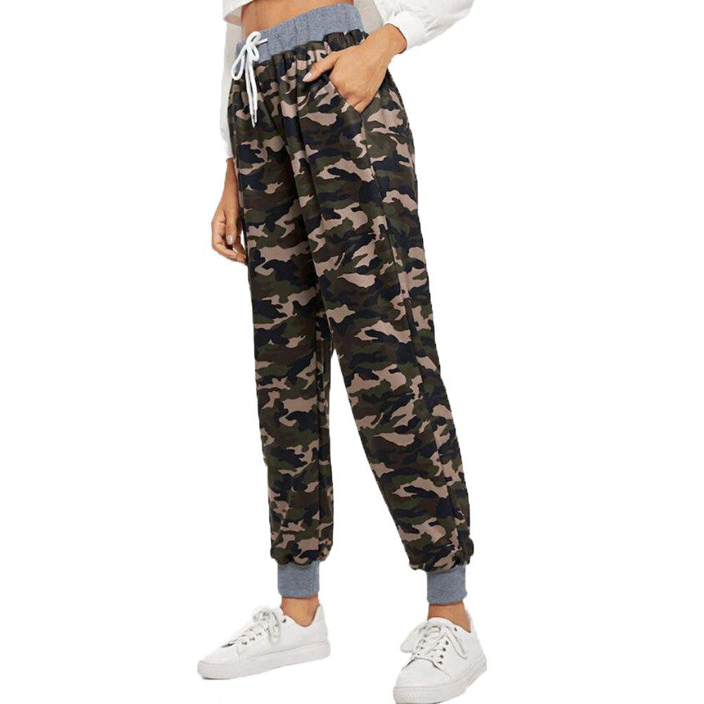Shops Women's Fashion Casual Camouflage Pants