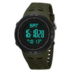 PANARS Mens Digital Countdown Swimming Waterproof LED Sport Digital Watches -