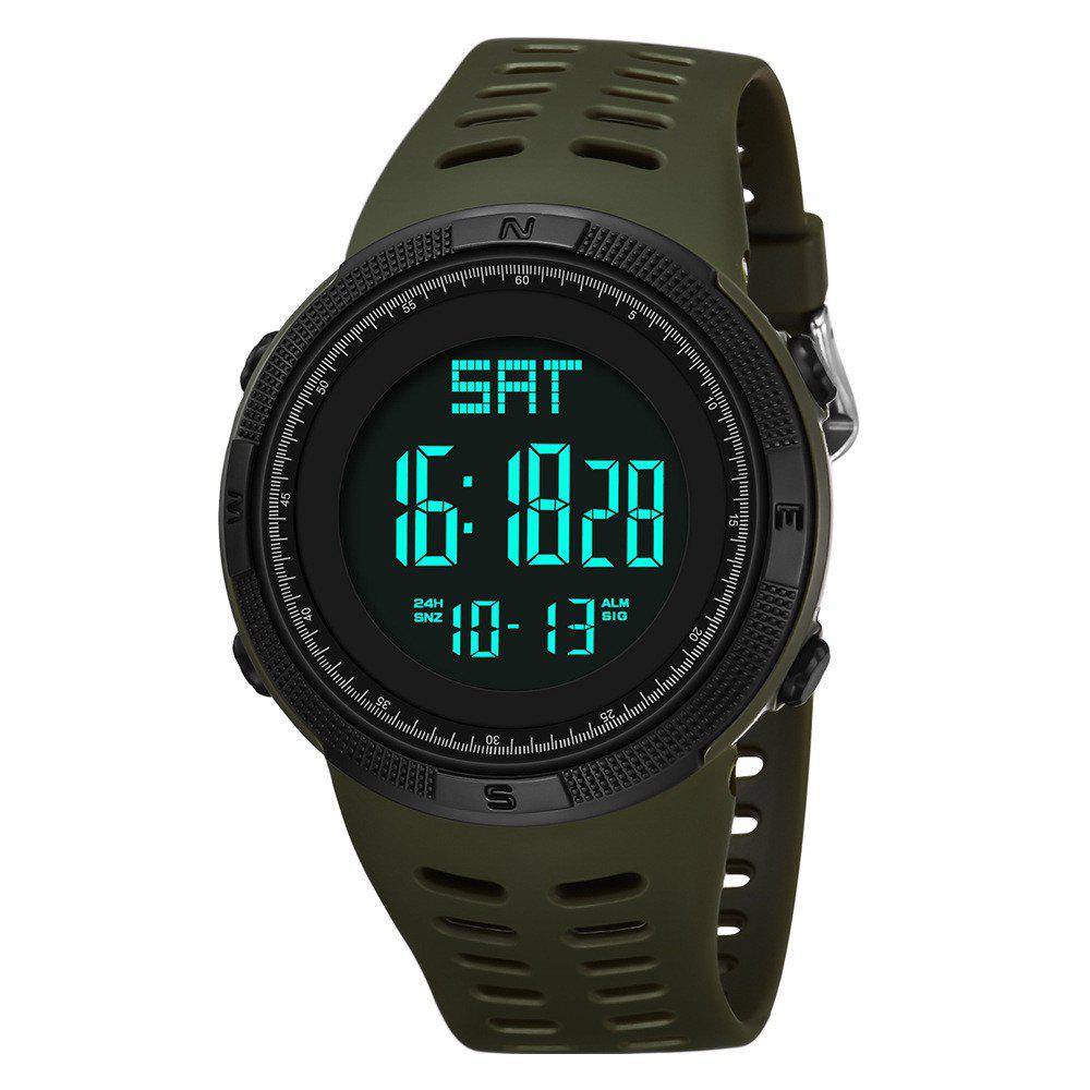 Affordable PANARS Mens Digital Countdown Swimming Waterproof LED Sport Digital Watches