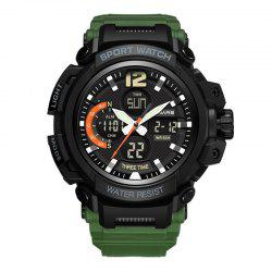 PANARS Men Sports Multi-Function Dual Display Analog Waterproof Digital Watches -