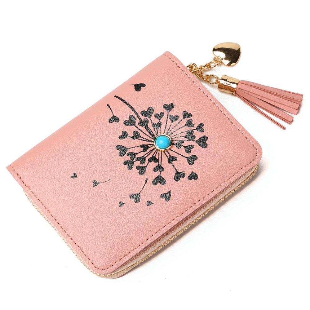 New Version Jane Women Pu Short Wallet Mini Coin Purse Card Holders