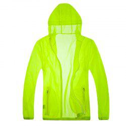 Solid Color Ultra-Thin Outdoor Sun-Proof Clothing -