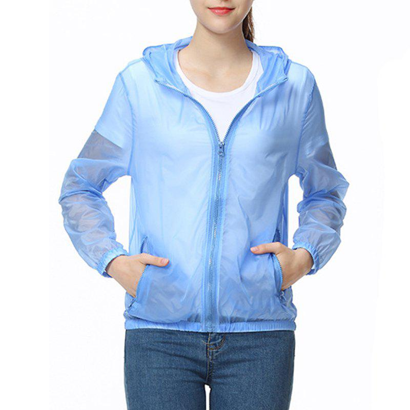 Best Solid Color Ultra-Thin Outdoor Sun-Proof Clothing