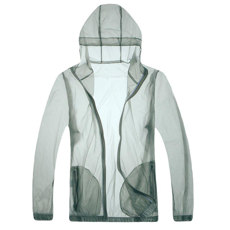 Outfit Solid Color Ultra-Thin Outdoor Sun-Proof Clothing