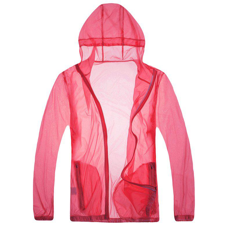 Fancy Solid Color Ultra-Thin Outdoor Sun-Proof Clothing
