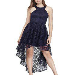 Ladies Evening party Large Swing Swallowtail Sexy Slim Dress -