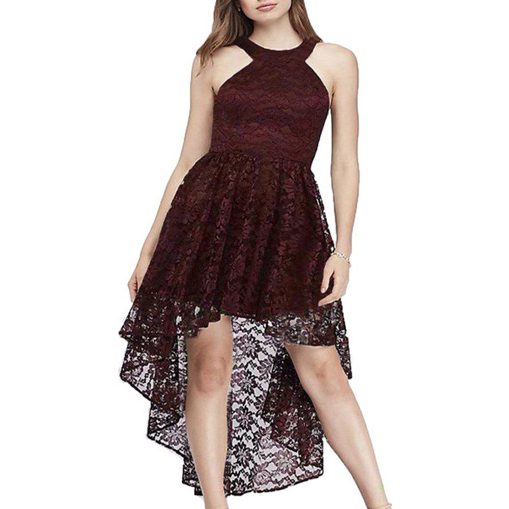 Shops Ladies Evening party Large Swing Swallowtail Sexy Slim Dress