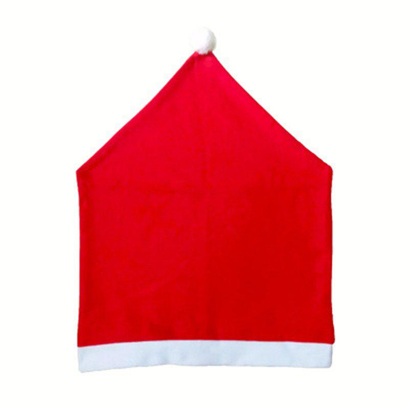 Buy Classic Explosion Non-Woven Christmas Chair Set Red Christmas Chair Cover