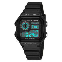 PANARS Men Top Luxury Fashion LED Outdoor Waterproof Electronic Watch -