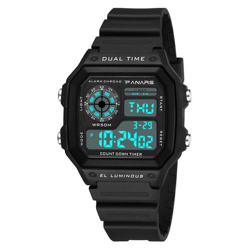 New PANARS Men Top Luxury Fashion LED Outdoor Waterproof Electronic Watch