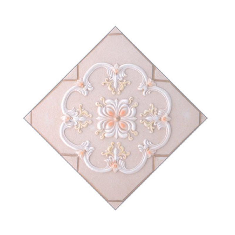 Unique 20Pcs/Set Waterproof Ceramic Tile Sticker Self Adhesive 3D Floor Wall Stickers