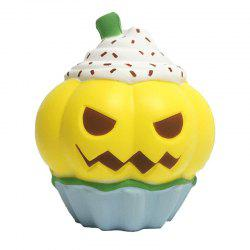 Jumbo Squishy Pumpkin Head Slow Rising Gift Decor Soft Squeeze Toy -