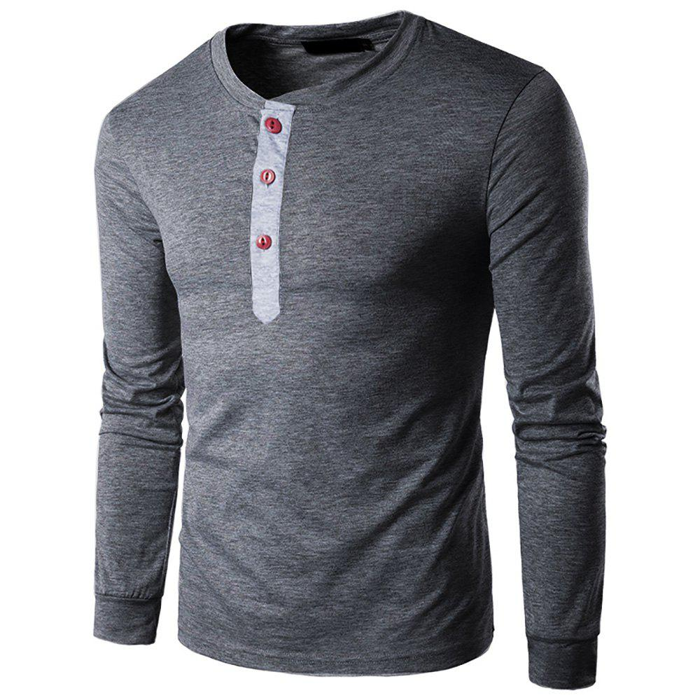 ce5f5c3a96 Trendy Spring Long Sleeve T Shirt Men Trend Casual Mens White T Shirts Tops  3XL