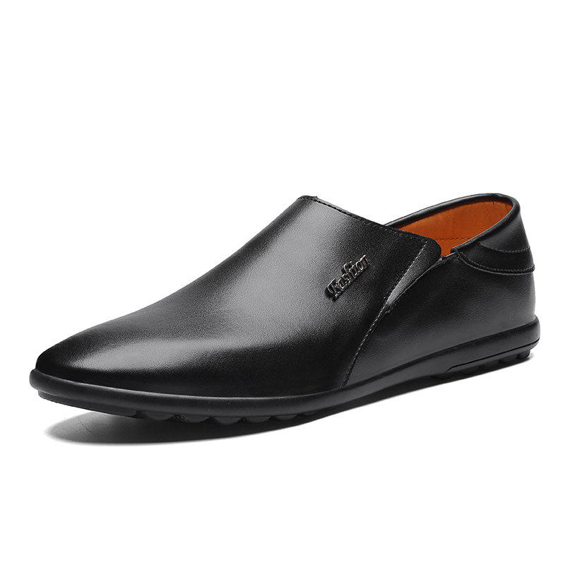 Outfits Men Flat Bottom Set Business Casual Shoes