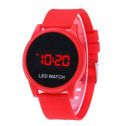 Fashion Touch Screen Ultra-Thin LED Sunglasses Fashion Sports Electronic Watch -