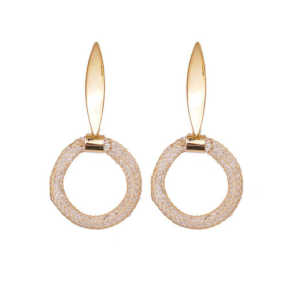 Store 925 Sterling Silver Earrings with Exaggerated Flash and Diamond Hoop Earrings
