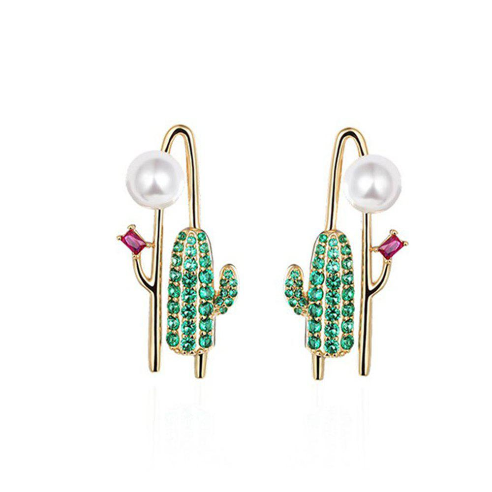 Store Fashion Cactus Personality Earrings