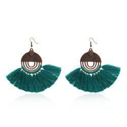 Bohemian Long Drop Women'S Earrings Charm Vintage Flower Tassels Earring -