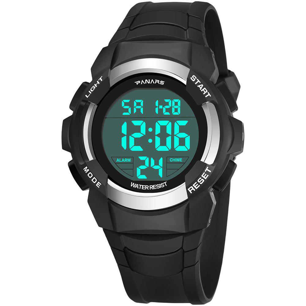 Chic PANARS Men Digital Sports Count Down Timer Alarm Clock LED Chronograph Watches