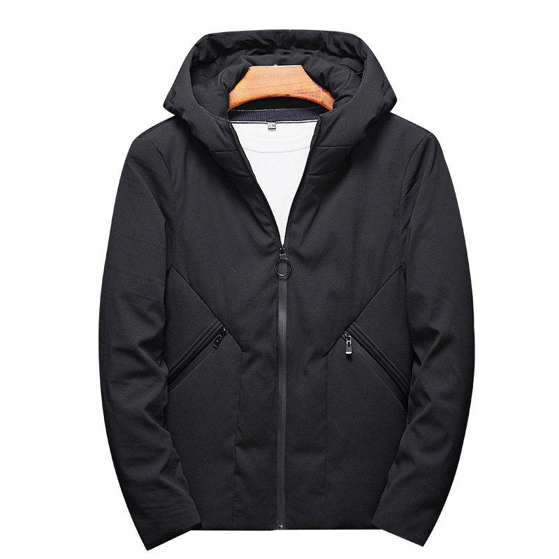 Мужская мода Casual Style Windproof Warm and Comfortable Down Long Coat