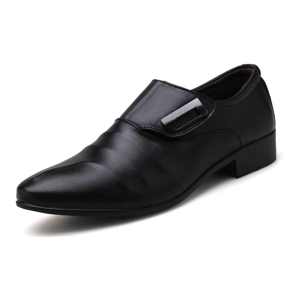 Cheap Men Plus Size Leisure Slip on Leather Shoes