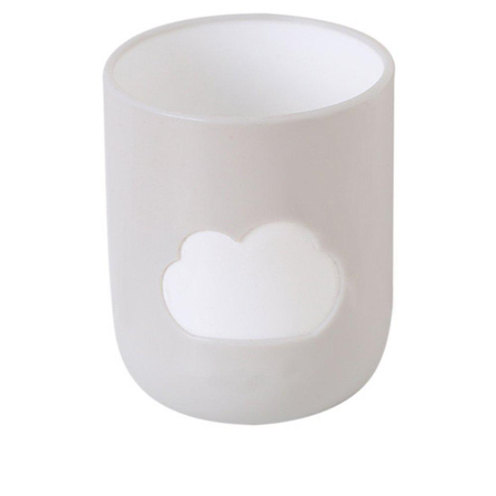 Fashion Green Cloud Mouthwash Cup Couple Toothbrush Cup Tooth Jar Cup