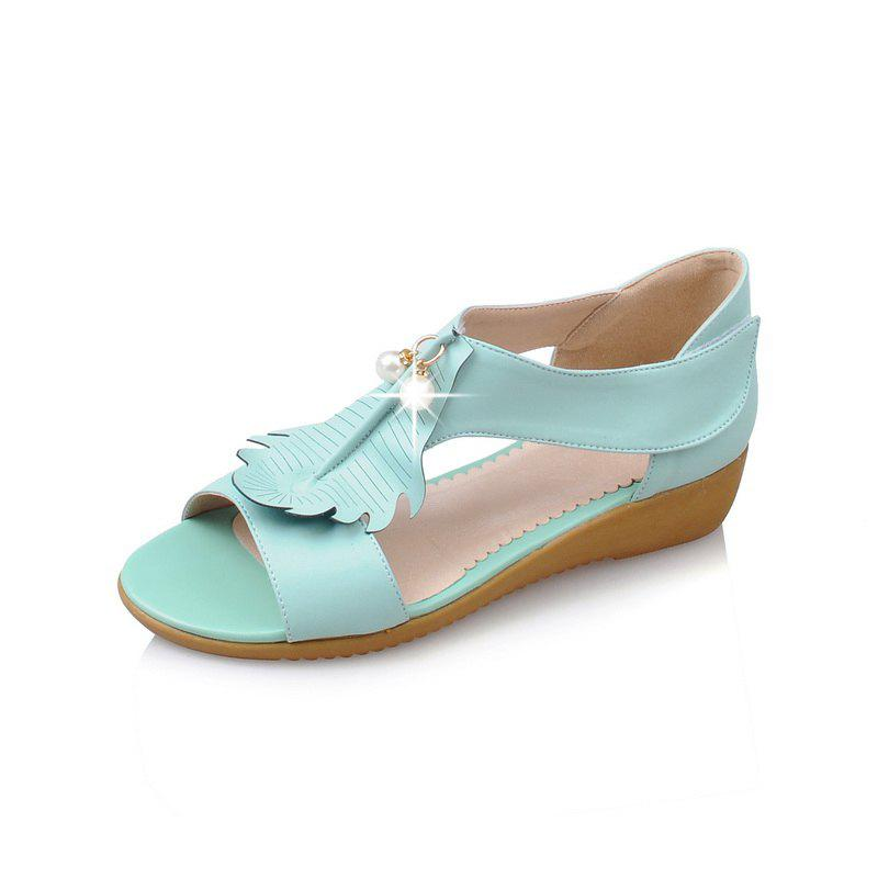 Outfit Summer Leaf Pearl Sweet Sandals