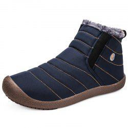 Shoes Men Winter Boots Man Warm Waterproof Rain Boots -