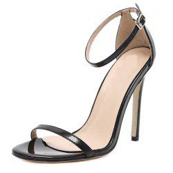 Women's Stiletto Open Toe Shoes Sexy Sandals -