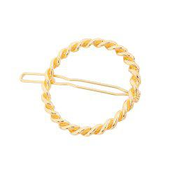 Fashion Geometric Alloy Hairpins -