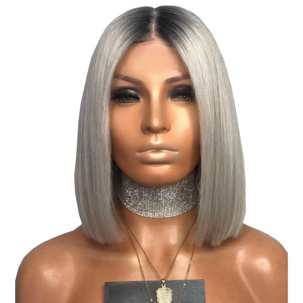 2019 Women S Synthetic Short Hair Wig Elegant Stylish Straight