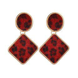 Creative Exaggerated Leopard Earrings -
