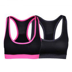 Sports Fitness Yoga Vest Bra Set -