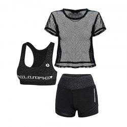 3 Pcs Women's Sports Set Clothing -