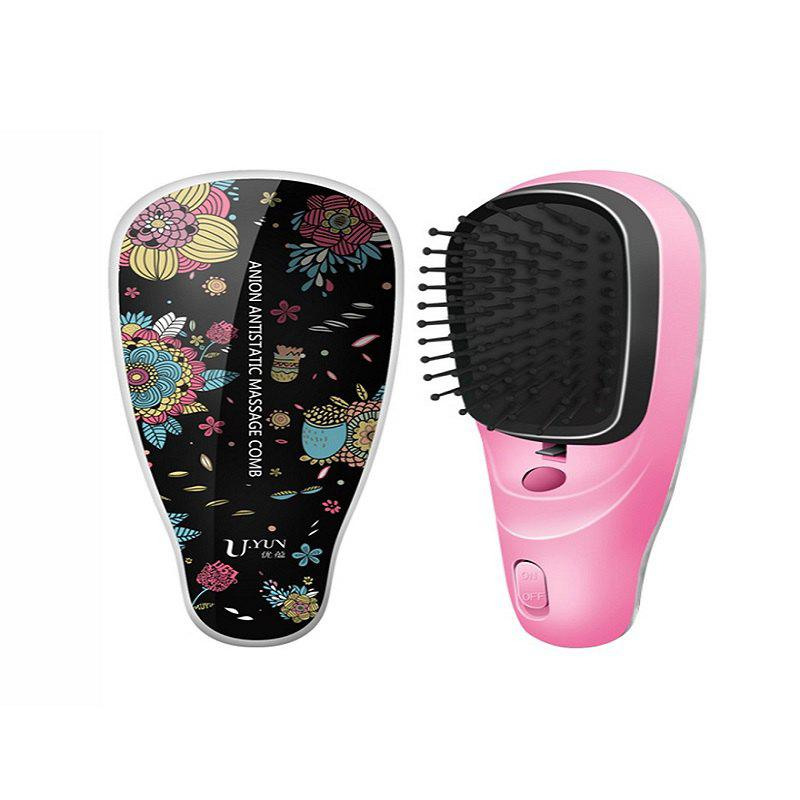 Outfit U YUN C-080Negative ion comb modeling massage electrostatic comb electric comb