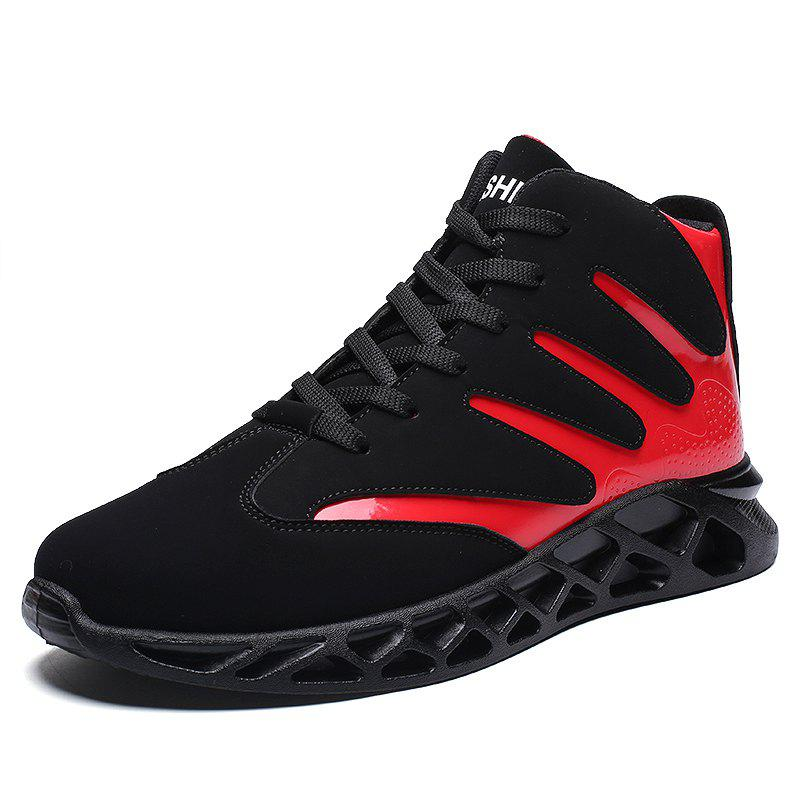 Outfit Men Sport Shoes High Increasing Boots Soft and Comfortable Shoes