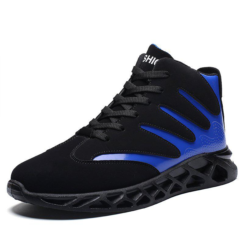 New Men Sport Shoes High Increasing Boots Soft and Comfortable Shoes