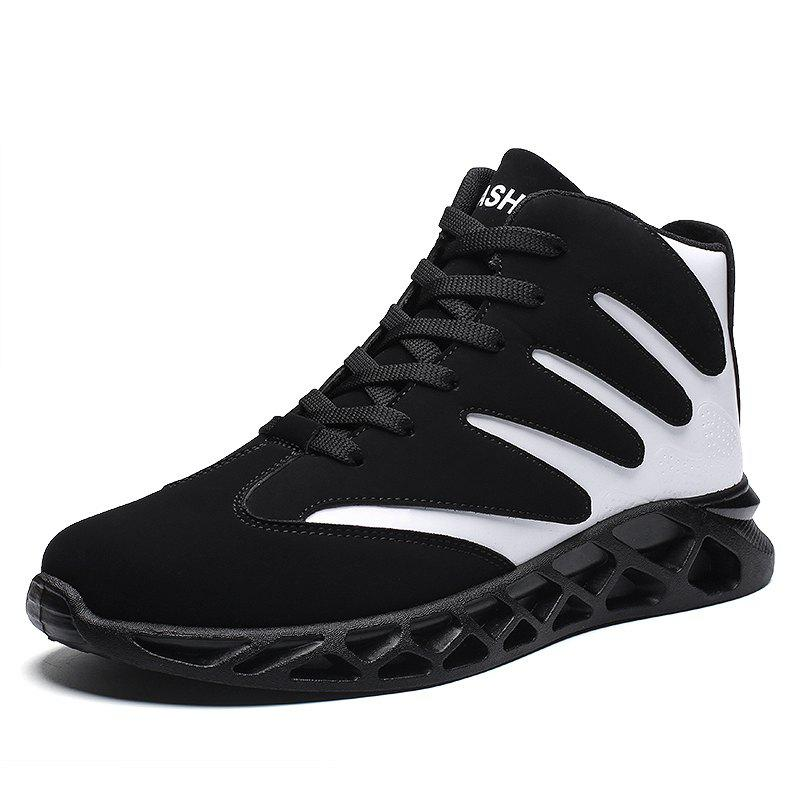 Online Men Sport Shoes High Increasing Boots Soft and Comfortable Shoes