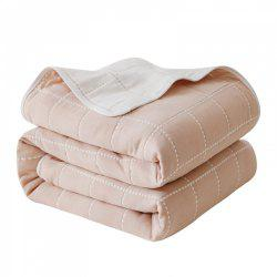 Multi-Functional Pure Cotton Blanket By Six Layer Thickened Cotton -